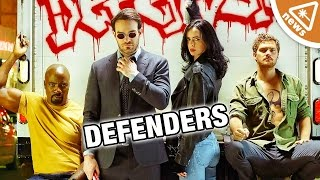 8 Things You Missed in the Defenders Trailer! (Nerdist News w/ Jessica Chobot)