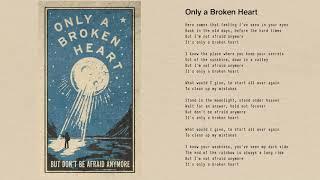 Tom Petty - Only a Broken Heart (Official Lyric Video)
