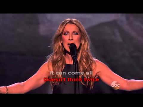 Love Doesn't Ask Why  Lyric | Celine Dion