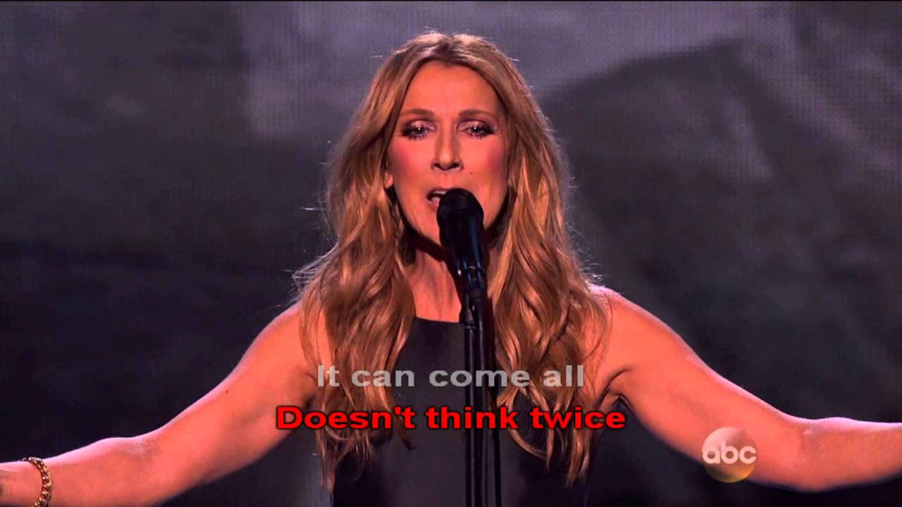 Download Love Doesn't Ask Why  Lyric | Celine Dion