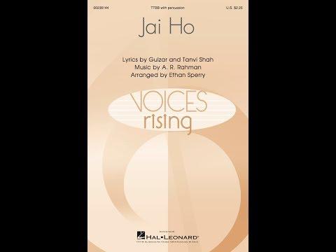 Jai Ho (TTBB) - Arranged by Ethan Sperry