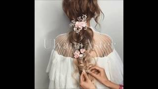 Beautiful fairy hair for girls tutorial by Ulyana Aster