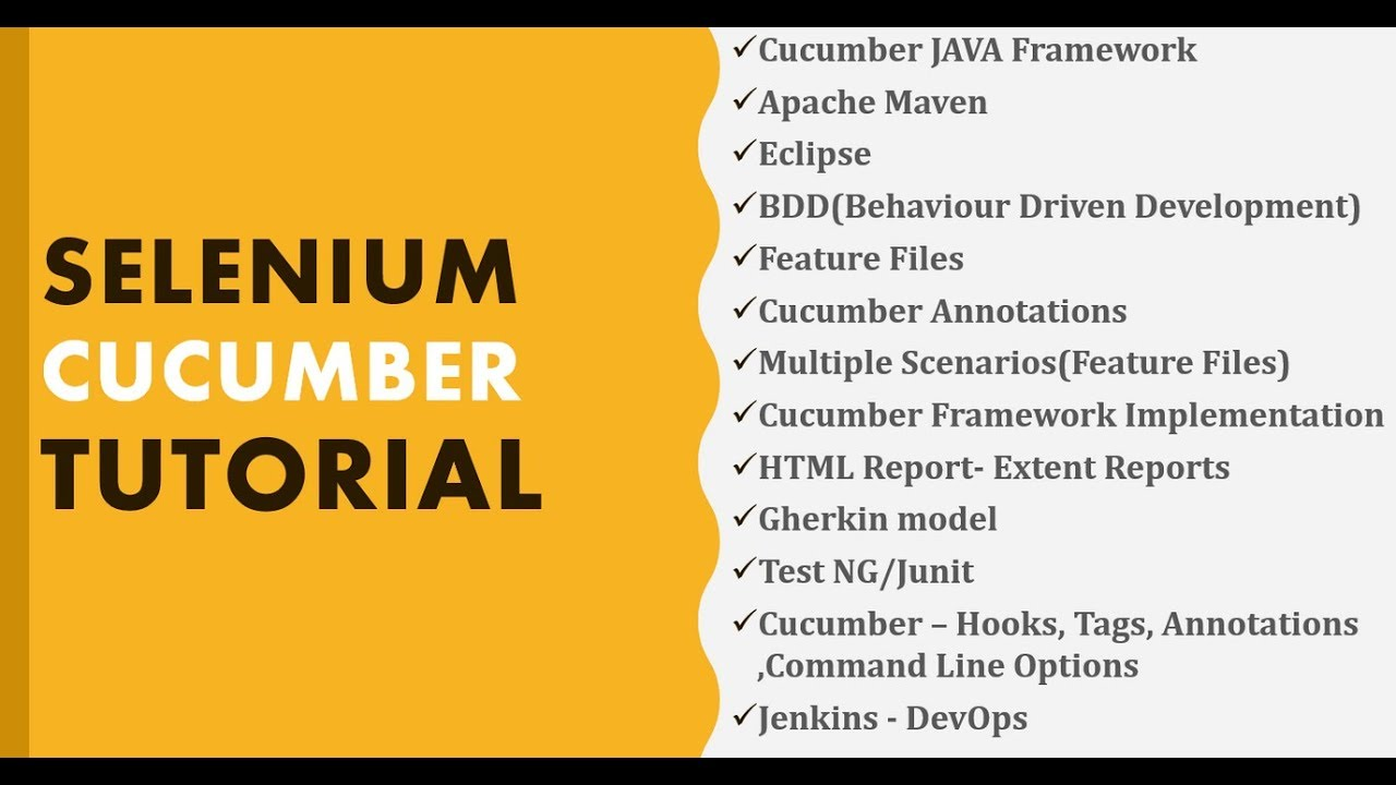 Selenium Cucumber Tutorial | Selenium Cucumber Java Tutorial