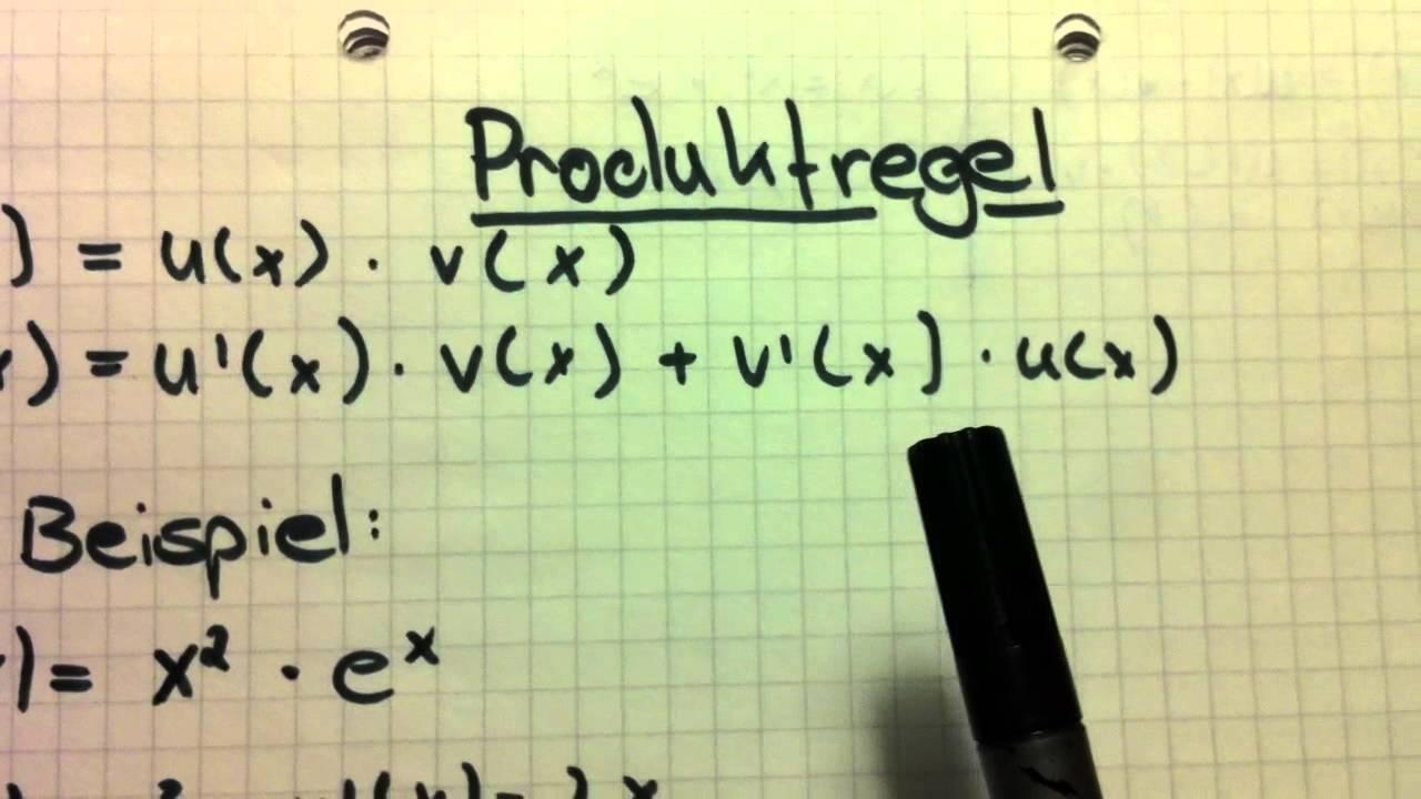 Produktregel (Mathematik) - Ableiten eines Produkts einfach erklärt ...