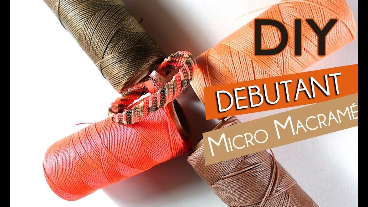 diy tutoriel bracelet en micro macram avec plusieurs fils cir s br siliens linhasita youtube. Black Bedroom Furniture Sets. Home Design Ideas
