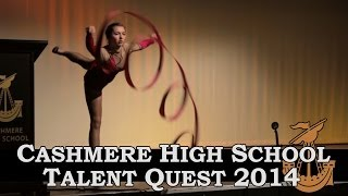 Cashmere High School Talent Quest 2014 - Jenny Francis | SamAndMichaelDoVideo