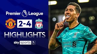Liverpool come from behind in six-goal thriller | Man Utd 2-4 Liverpool | Premier League Highlights