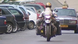 Глухонемой белорус объехал весь мир на мотоцикле