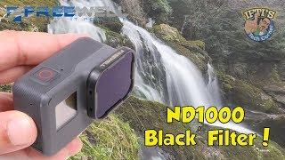 Freewell ND1000 Long Exposure 'Black Filter' for GoPro Hero 5/6 Black!