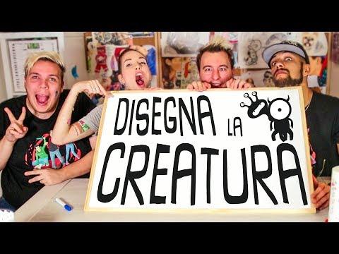 DISEGNIAMO la CREATURA #03 con Sabri, Giulio & Peo