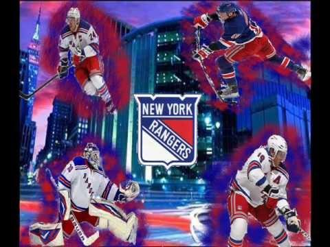 New York Rangers Custom Wallpaper