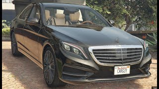 GTA 5 PC MODS | Mercedes-Benz S500 W222 2014 | Download Link | 60 FPS 1080p