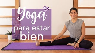 Yoga para estar bien | Paloma & Caramelos
