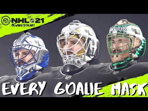 NHL 21 | Every Goalie Mask In The Game