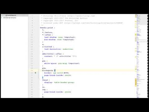 How to add a minimap to PHP Storm or other Jetbrains based