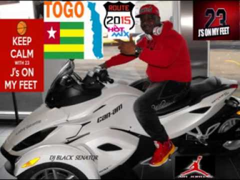 Togo music 2015 new mix hot mix i love Togo music by dj black senator