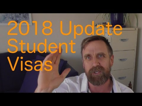 New 2018 update for Australian Student visa application