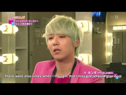 Hongki interview cut (FTISLAND is a band)
