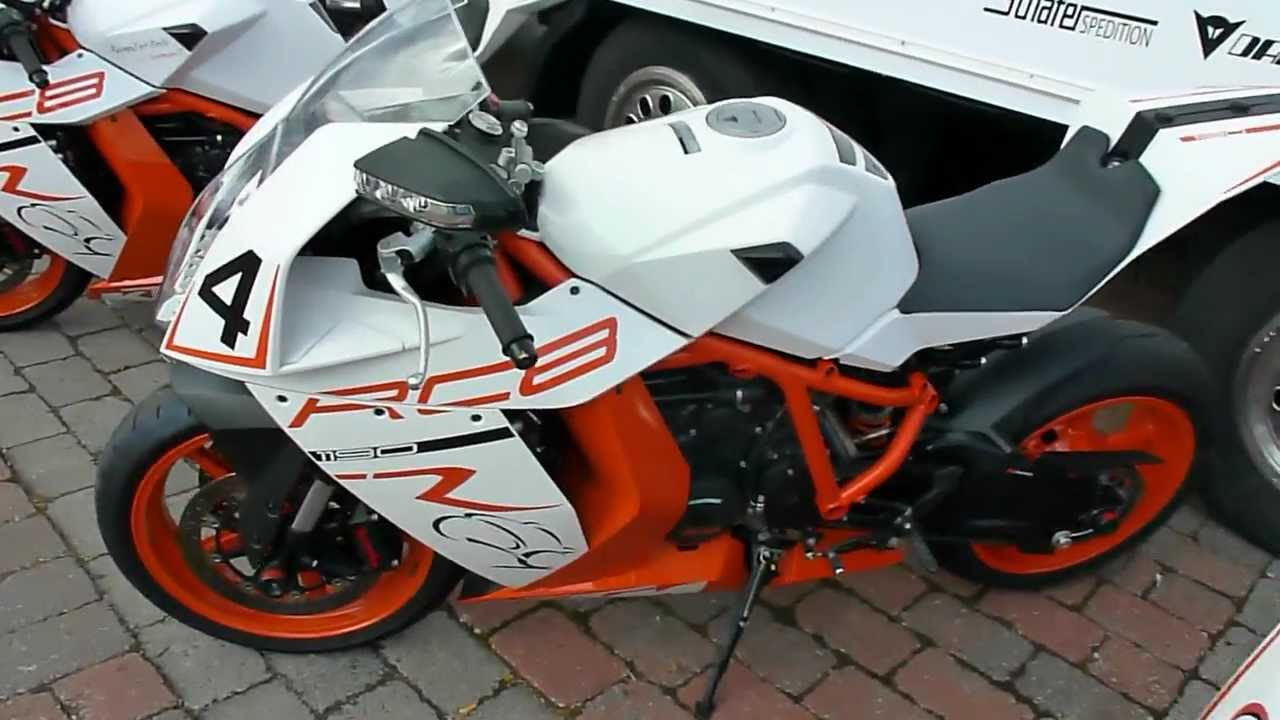 KTM 1190 RC8 R 1.2 V2 175 Hp 2011 * see also Playlist - YouTube