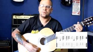 Ritmo Pop  nº3 compasso 4/4 -  Prof Juninho Abrão