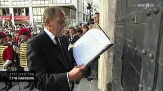 Otto von Habsburg Funeral - Kapuzinerkirche [HD]