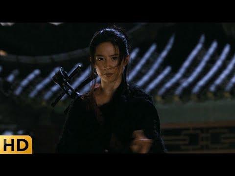 Джейсон и Лу Янь отбиваются от стражников. Запретное царство.
