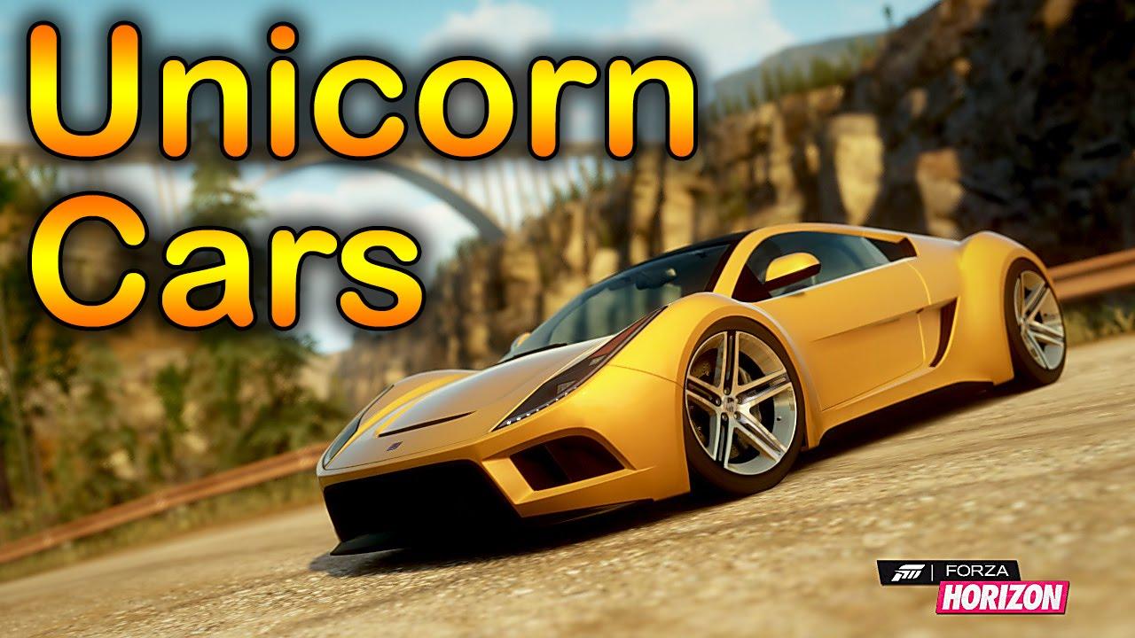 Unicorn Cars In Forza Horizon
