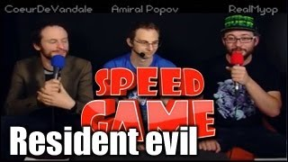 Speed Game - Resident Evil - Fini en moins de 1h12