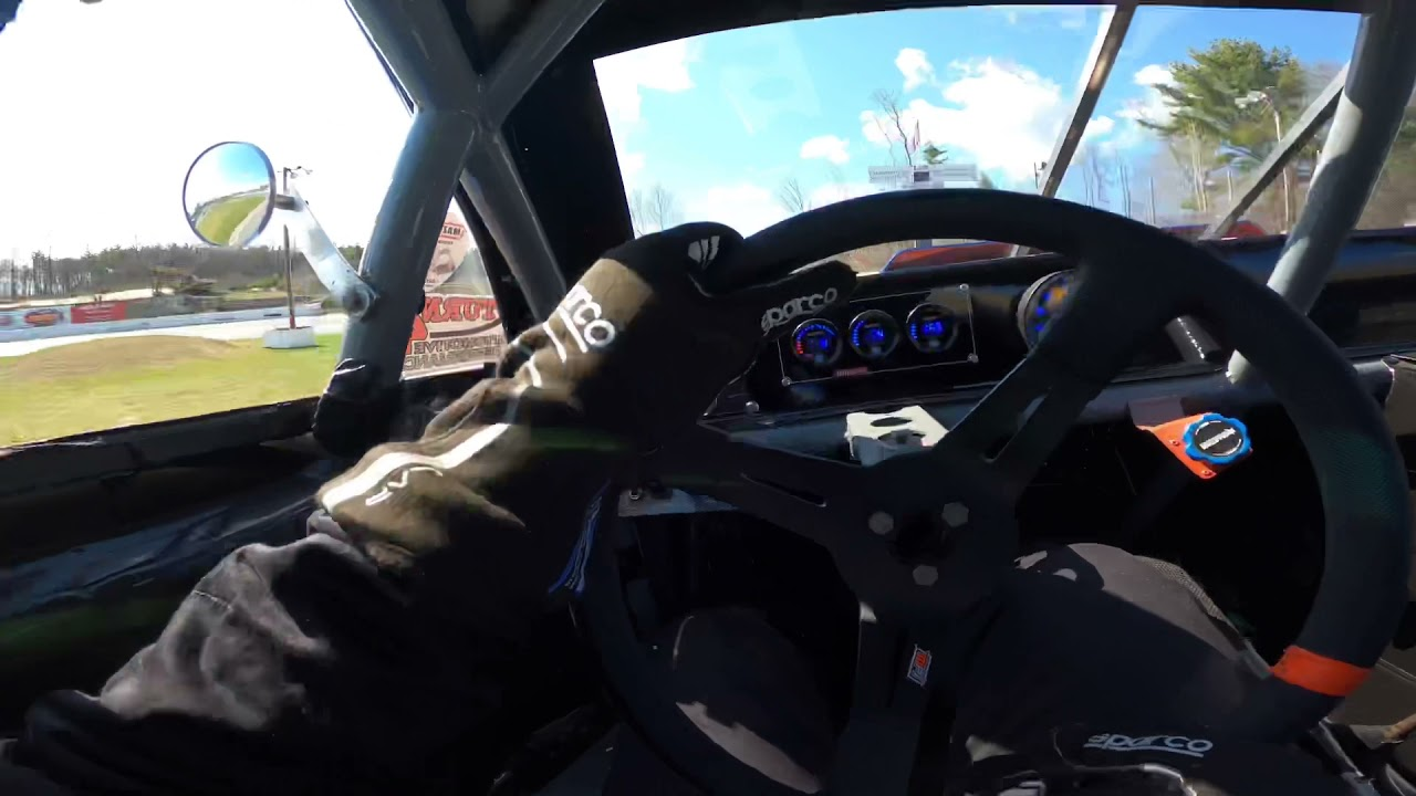 Claremont motorsports park mini stock practice day   |Driver POV