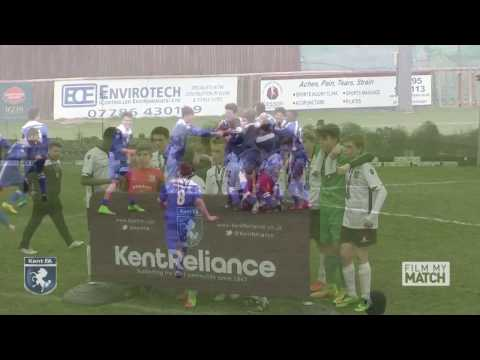 Kent Reliance U14 Boys Youth Cup Final 2017