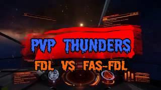 Elite Dangerous / 1vs2 / PvP / FDL vs FAS-FDL