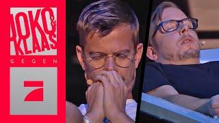 Abbruch wegen Gesundheitsrisiko! Frank Tonmann hypnotisiert | Spiel 1 | Joko & Klaas gegen ProSieben