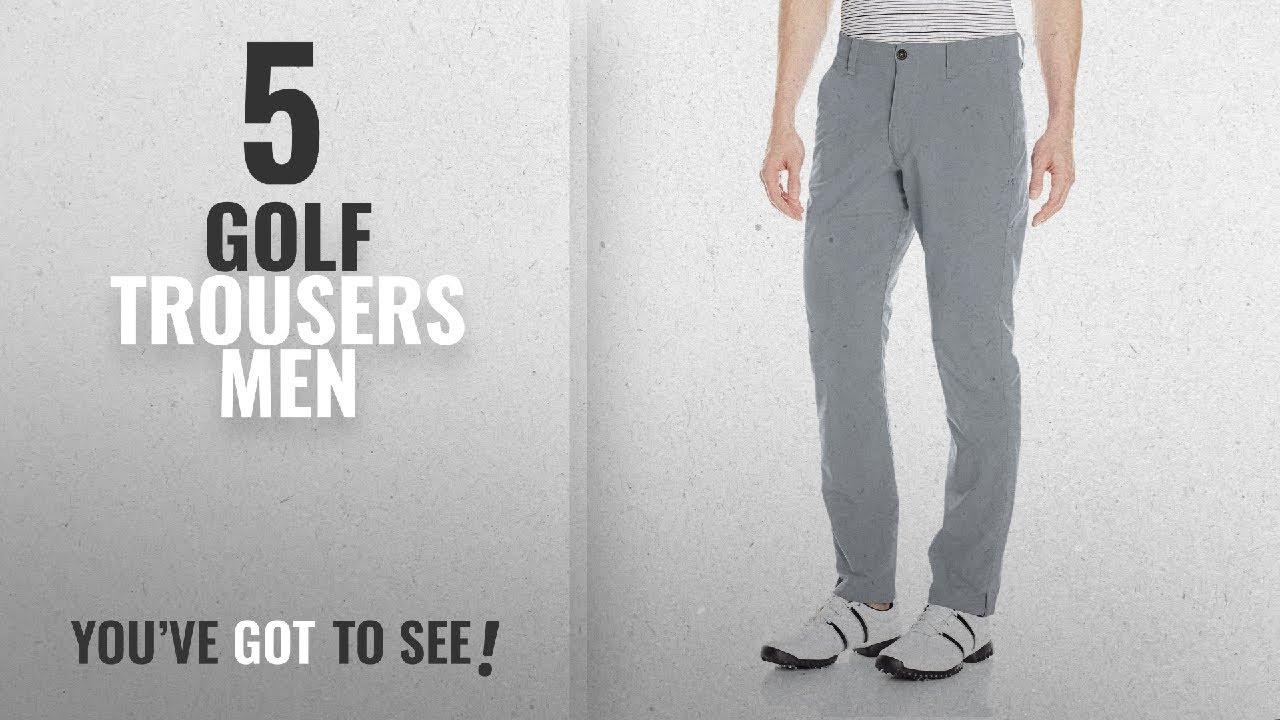 b0f8cff2a17 Top 10 Golf Trousers Men [2018]: Under Armour Men's Golf Trousers ...