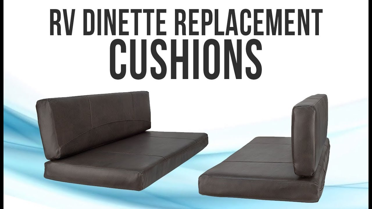 Recpro Charles Rv Dinette Booth Cushions With Memory Foam Recpro
