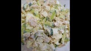 """Сытный малокалорийный салат """"Витаминная бомба""""    Salad   Vitamin """"Bomb"""""""