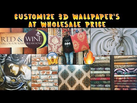 Customize 3D Wallpaper  Wallings  Wall Decor items At Wholesale  Interior Ideas, 3D Wall Art