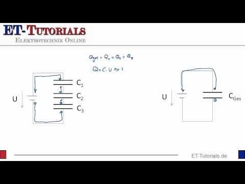 Reihenschaltung von Kondensatoren | ET Tutorials