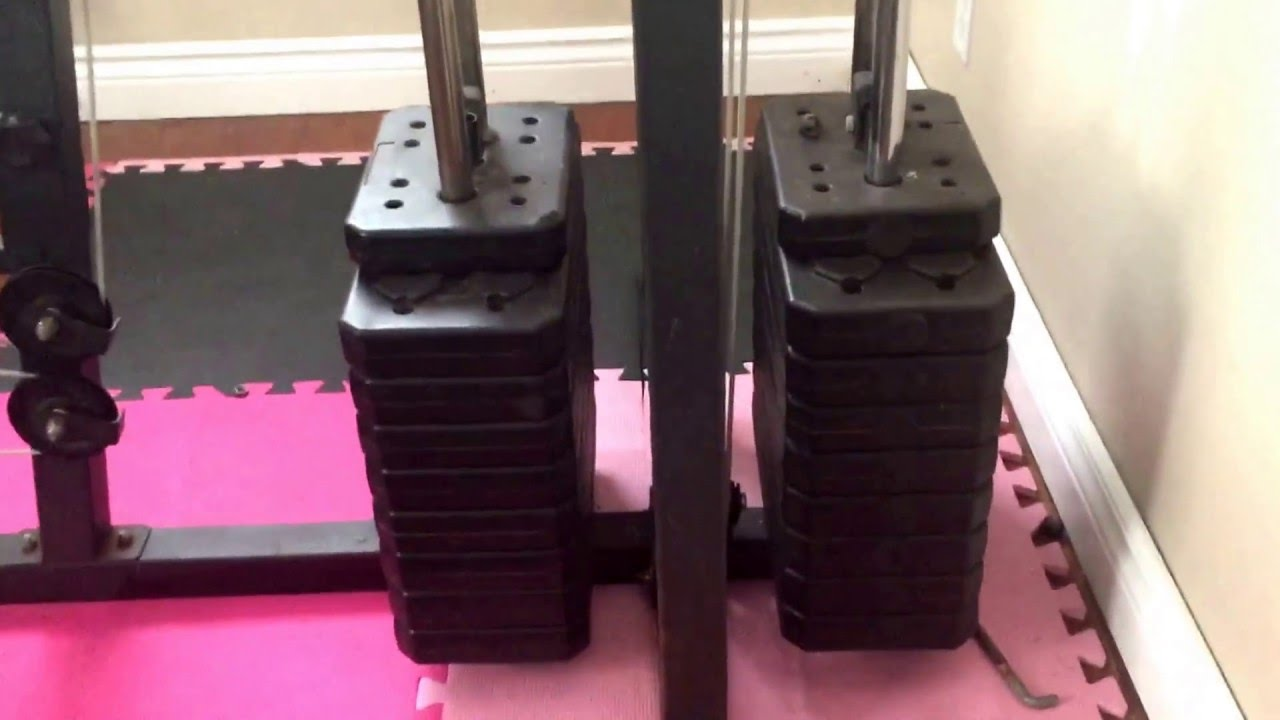 Weilder home gym system youtube