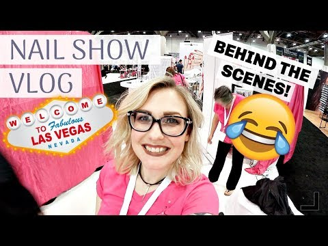 Vegas Vlog | NAIL SHOW | LIMOUSINES AND LOBSTERS