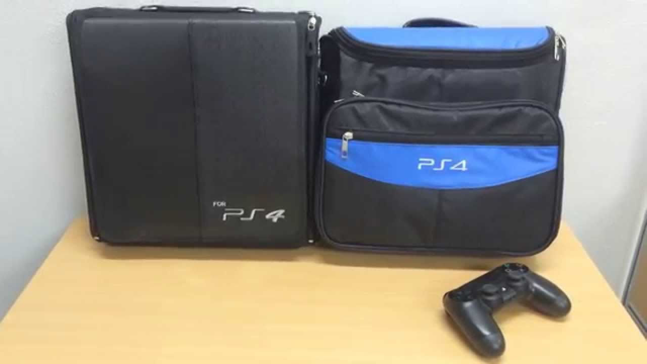 TRAVEL Bag Case for Playstation 4 PS4 (Subtitled English) - YouTube