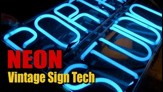 Vintage Custom Neon Signs are SUPER Fragile - Nothing Like Real Thing!