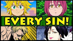 All 7 Sins and Their Powers Explained! (Seven Deadly Sins / Nanatsu no Taizai S2 Every Sin Season 2)