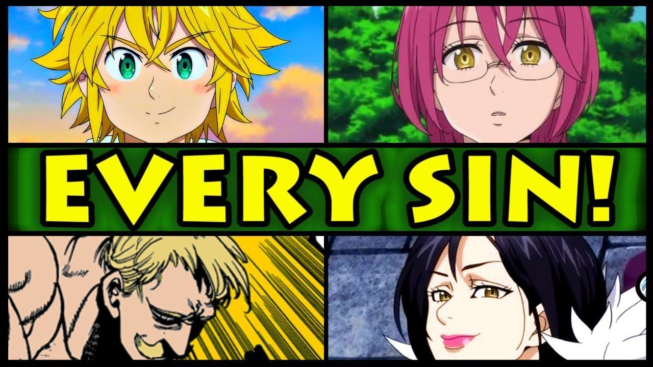 all 7 sins and their powers explained seven deadly sins nanatsu