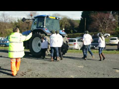 Vehicle visibility demonstration
