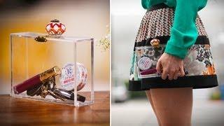 Diy Fashion | Clear Clutch Purse | Designer Diy