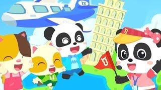 ミュウミュウ ガイドへ変身☆せかい旅行に行こう | ごっこ遊び |  赤ちゃんが喜ぶ歌 | 子供の歌 | 童謡 | アニメ | 動画 | ベビーバス| BabyBus