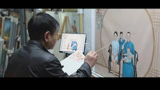 GLOBALink | China's oil painting village growing into international art community