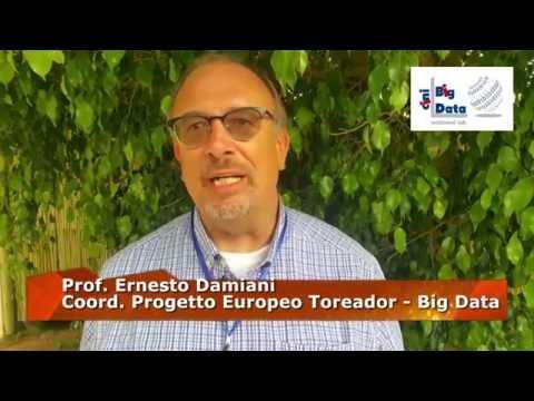 Ernesto Damiani coordinatore europeo progetto Toreador
