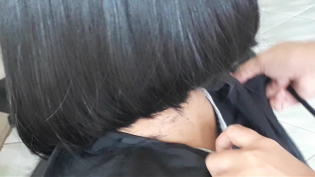 Potong Rambut Bob