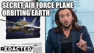 Secret Air Force Plane Orbiting Earth